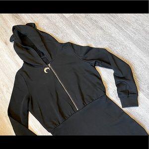 Dolls Kill (NWOT) Bear Hoodie Sweater Dress - S/M